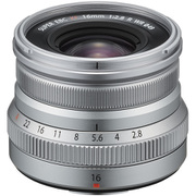 XF16mm F2.8 R WR シルバー [フジノンレンズ 16mm/F2.8 富士フイルムXマウント]