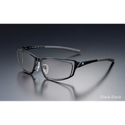 G-SQUARE アイウェア プロフェッショナルモデル フルリム フレーム:ブラック / レンズ:グレー [ゲーミンググラス]