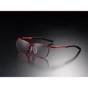 G-SQUARE アイウェア カジュアルモデル フルリム フレーム:レッド / レンズ:グレー [ゲーミンググラス]