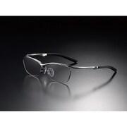 G-SQUARE アイウェア カジュアルモデル フルリム フレーム:シルバー / レンズ:グレー [ゲーミンググラス]