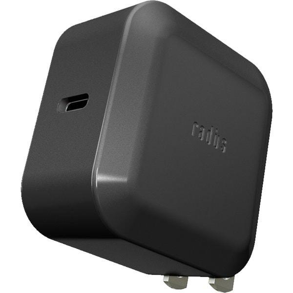 RK-UPS18K [USB-PD対応 USB Type-C ACアダプター単体 ブラック]