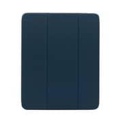 OWL-CVIA12901-NV [iPad Proケース 12.9inch用 ペンホルダー付 ネイビー]