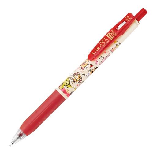 JJ29-TS-R <限定> サラサクリップ ジェルボールペン 0.5mm トイ・ストーリー 赤 [キャラクターグッズ]