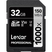 LSD32GCBJP1000 [Lexar Professional 1000x SDHC UHS-IIカード 32GB]