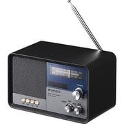 MSR-1(BK) [ラジオチューナー内蔵 Bluetoothスピーカー ブラック]