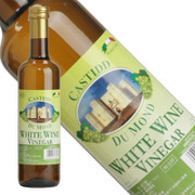 カスティッド・デュ・モンデ ホワイト・ワイン・ヴィネガー 500ml