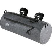 防水ドラム型フロントバッグ グレー