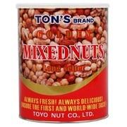 トン ゴールデンミックスナッツ缶 900g