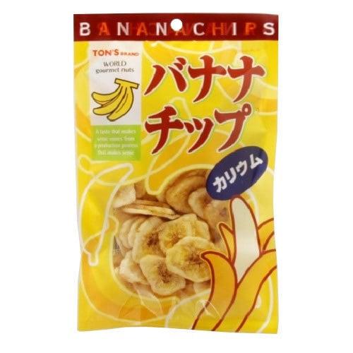トン TR バナナチップス 75g