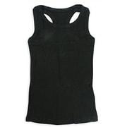 11901 パッケージ入りタンクトップ ジュニアサイズ(男女兼用) 黒 120cm [キッズ用ウェア]