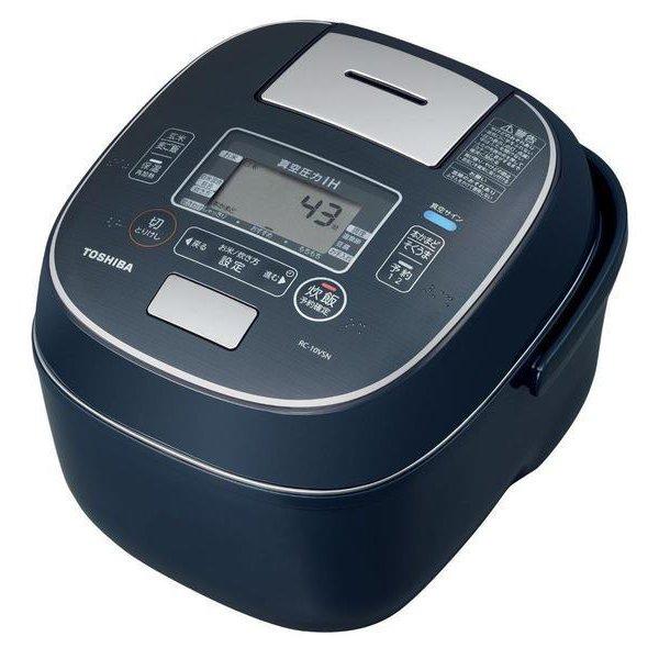 RC-10VSN (L) [真空圧力IH炊飯器 合わせ炊き 鍛造かまど銅釜 5.5合炊き インディゴブルー]
