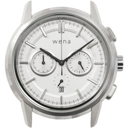WNW-HC21 W [wena wrist Chronograph Classic head ホワイト]