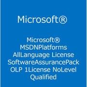 MSDN Platforms AllLng License/Software Assurance Pack OLP 1License [ライセンスソフト]