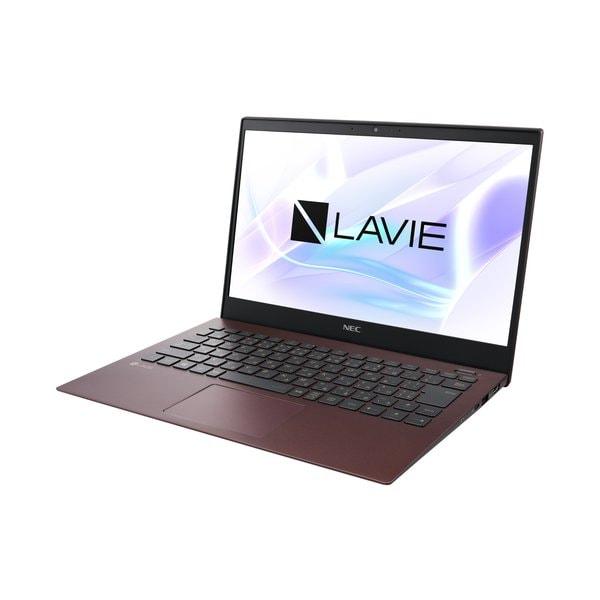 PC-PM550NAR-YC [LAVIE Pro Mobile 13.3型/Core i5-8265U/メモリ8GB/Windows 10 Home 64bit/512GB(SSD)/Microsoft Office Home&Business 2019/ボルドー/ヨドバシ限定 メモリ増量モデル]