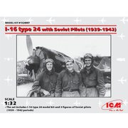 32007 ポリカルポフ I-16 タイプ24 w/ソビエトパイロット [1/32 エアクラフトシリーズ]
