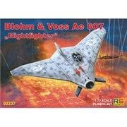 92237 ブロム&フォス Ae 607 夜間戦闘機 [1/72 エアクラフトシリーズ]