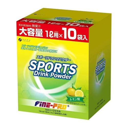 スポーツドリンクパウダー レモン 40g×10袋