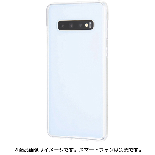 RT-GS10CC2/CM [Galaxy S10 ハイブリッドケース/クリア]