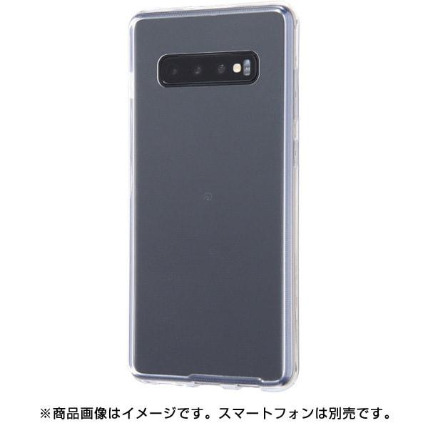 RT-GS10PCC2/CM [Galaxy S10+ ハイブリッドケース/クリア]