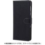 RT-AQR3ELC3/BB [AQUOS R3 手帳型ケース シンプル マグネット スリープ機能対応/ブラック/ブラック]