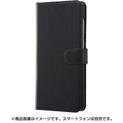 RT-GA30ELC1/BB [Galaxy A30 手帳型ケース シンプル マグネット/ブラック/ブラック]