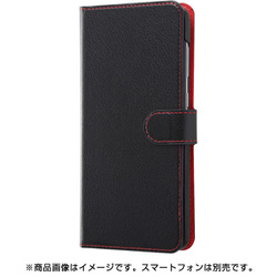 RT-GA30ELC1/BR [Galaxy A30 手帳型ケース シンプル マグネット/ブラック/レッド]