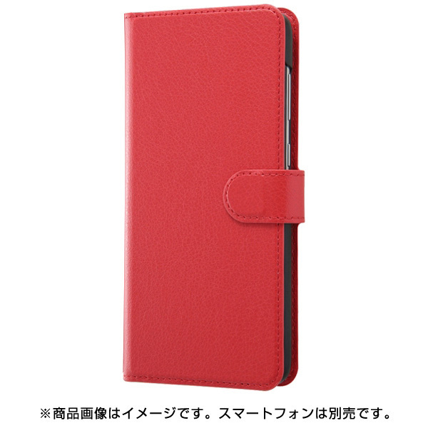 RT-GA30ELC1/R [Galaxy A30 手帳型ケース シンプル マグネット/レッド]
