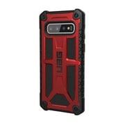 UAG-GLXS10-P-CR [UAG社製 Samsung Galaxy S10 MONARCH Case(クリムゾン)]