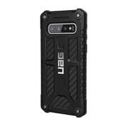 UAG-GLXS10-P-CF [UAG社製 Samsung Galaxy S10 MONARCH Case(カーボンファイバー)]