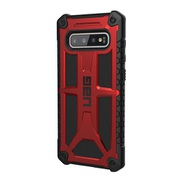 UAG-GLXS10PLS-P-CR [UAG社製 Samsung Galaxy S10+ MONARCH Case(クリムゾン)]