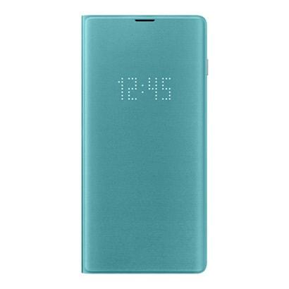 EF-NG975PGEGJP [Galaxy S10+ LED View Cover Green]