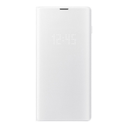 EF-NG975PWEGJP [Galaxy S10+ LED View Cover White]