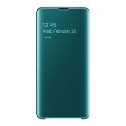 EF-ZG973CGEGJP [Galaxy S10 Clear View Cover Green]