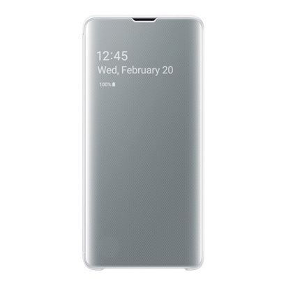 EF-ZG973CWEGJP [Galaxy S10 Clear View Cover White]