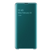 EF-ZG975CGEGJP [Galaxy S10+ Clear View Cover Green]