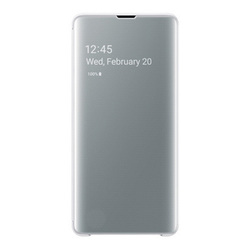 EF-ZG975CWEGJP [Galaxy S10+ Clear View Cover White]