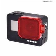 GLD3563MJ80 [GoPro HERO7black/6/5用レンズフィルター 赤]