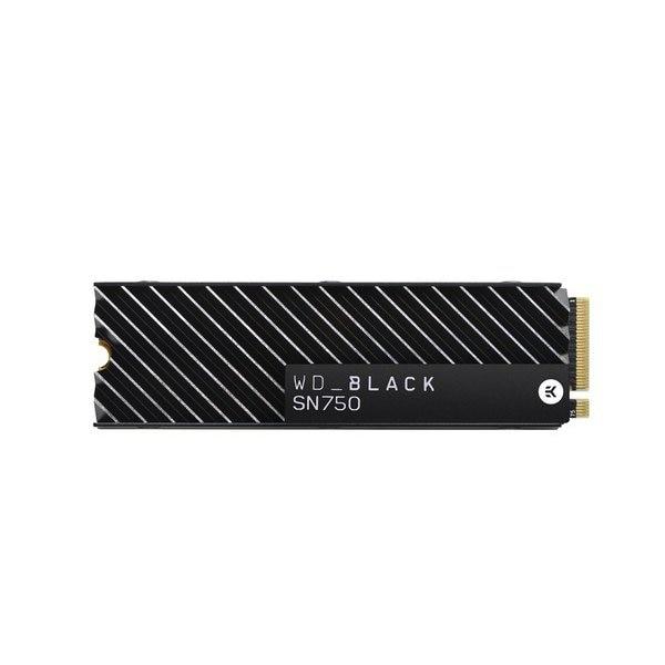 WDS200T3XHC [WD Black SN750シリーズ NVMe SSD 2.0TBモデル ヒートシンク搭載モデル]