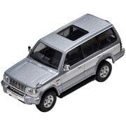 TLV-N189a 1/64 三菱 パジェロ ミッドルーフワイド スーパーエクシードZ 銀/白 [ダイキャストミニカー]