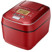 RZ-V100CM R [圧力&スチームIHジャー炊飯器 ふっくら御膳 5.5合炊き メタリックレッド]