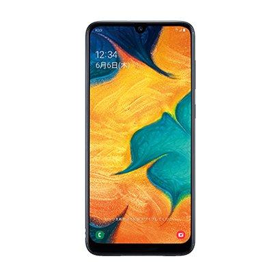 Galaxy A30 ブラック [スマートフォン]