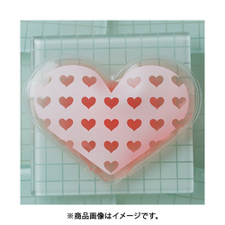 ヨドバシ Com クロスハーツ C 011cp 保冷剤 ハートdeハート 透明 ピンク 通販 全品無料配達
