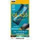 3E1811SCV43 [Galaxy A30 用 3D ガラスパネル 全面保護 ブラック ブルーライトカット]