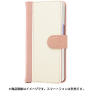 RT-RXPALBC10/PW [Xperia Ace 用 手帳型バイカラーケース ピンク]