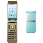 GRATINA(グラティーナ) KYF39 薄水色 [携帯電話]