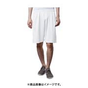 BL004 [吸汗速乾 UVカット ドライショートパンツ ホワイト Lサイズ]