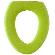 便座カバー グリーン O型 COLORSHOP