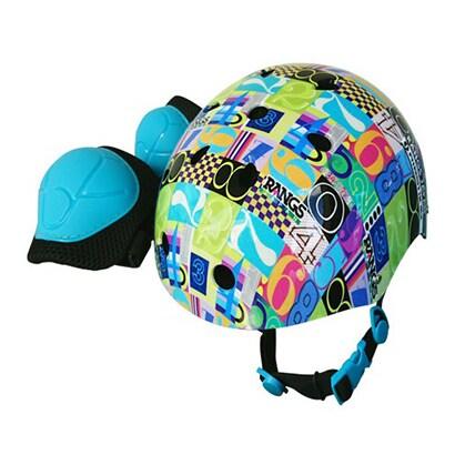 スポーツヘルメット ナンバー プロテクター付 [プロテクター付ヘルメット]