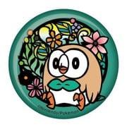 ポケットモンスター 切り絵シリーズ 和紙缶バッジ モクローA [キャラクターグッズ]