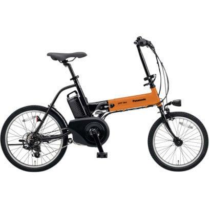 BE-ELW073K [電動アシスト自転車 オフタイム 前18型/後20型 8.0Ah 外装7段変速 オレンジ×ブラック]
